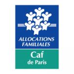 Logo Caf (Caisses des allocations familiales) Paris